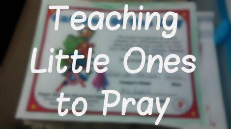 little ones pray blog photo