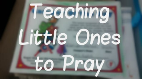 little ones pray blog photo